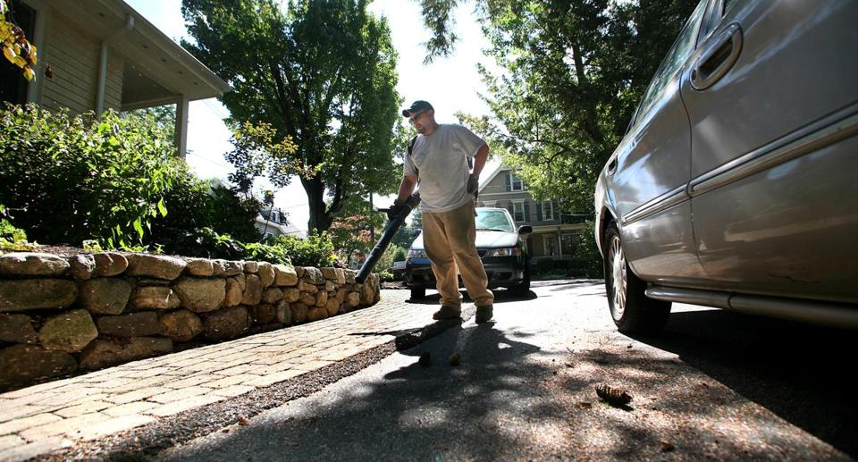 In Newton, a committee is studying another attempt to set restrictions on leaf blowers.